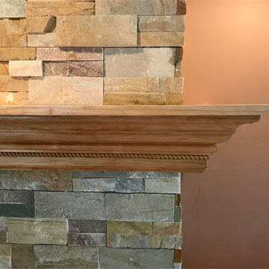 Fireplace Mantels in Rochester, MI
