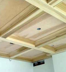 Oakland County Coffered Ceiling