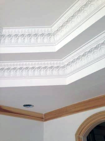 detailed crown molding in Washington Twp. Michigan