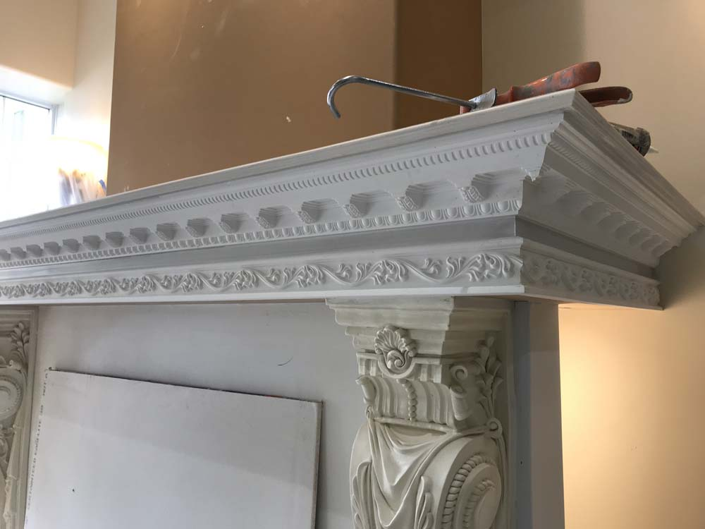 Professional Fireplace Mantel Installation