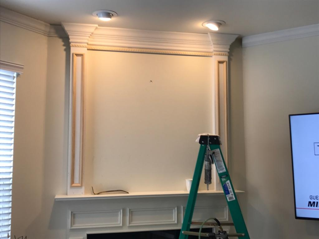Fireplace Crown Molding
