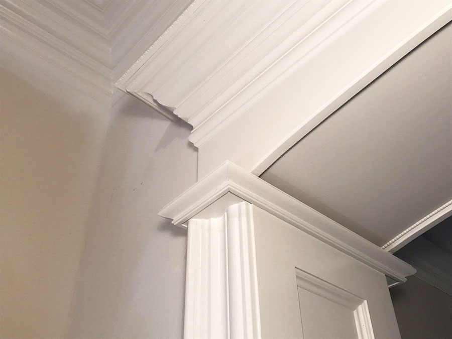 Michigan Doorway Crown Molding