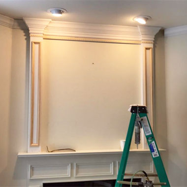 Want crown molding installed