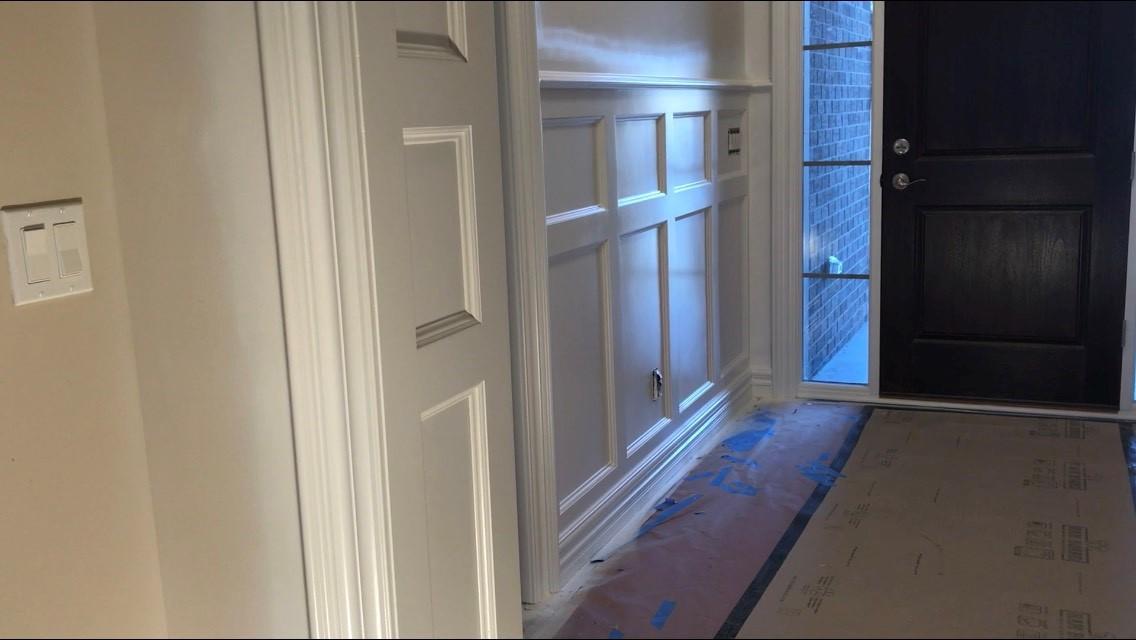 Hallway Wainscoting