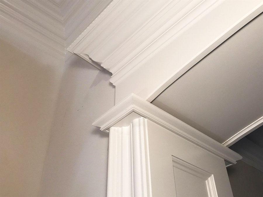 Michigan Doorway Crown Molding