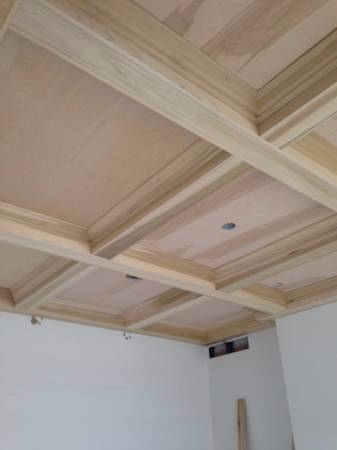 Wood Coffered Ceilings